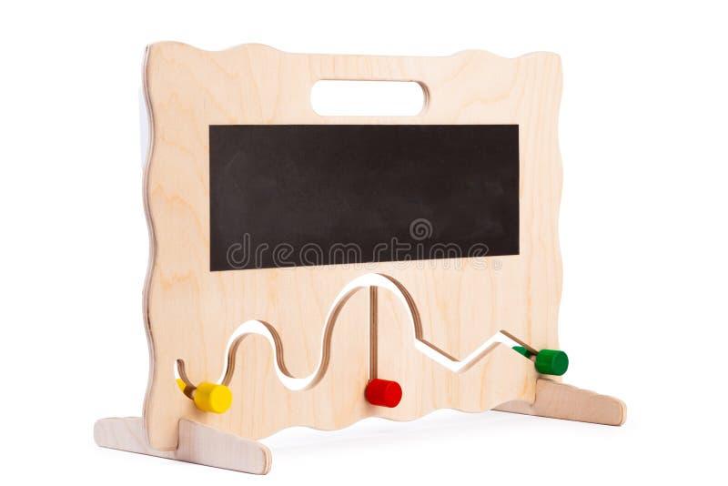Деревянная игрушка для детей стоковое изображение rf