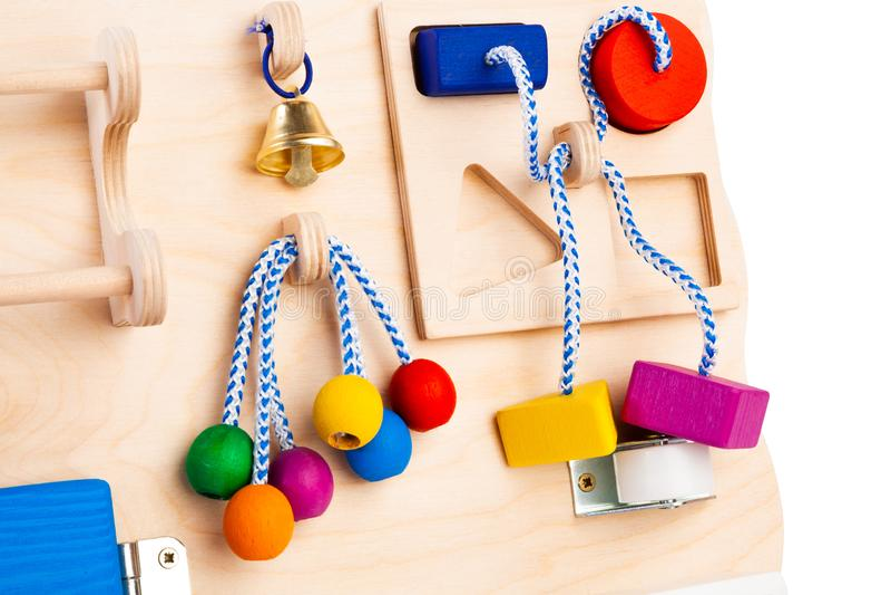 Деревянная игрушка для детей стоковая фотография rf