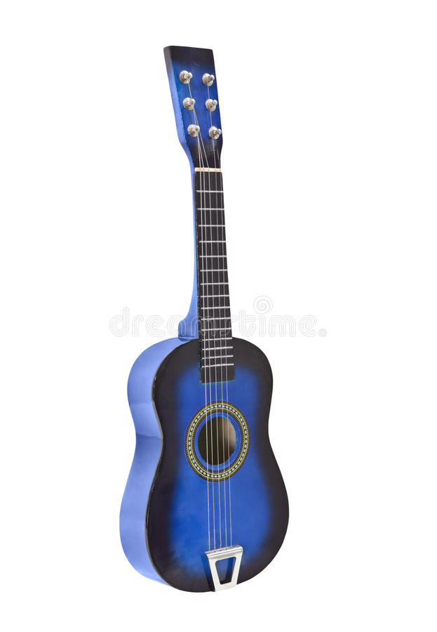 Free Toy Acoustic Guitar Isolated Royalty Free Stock Images - 25850679