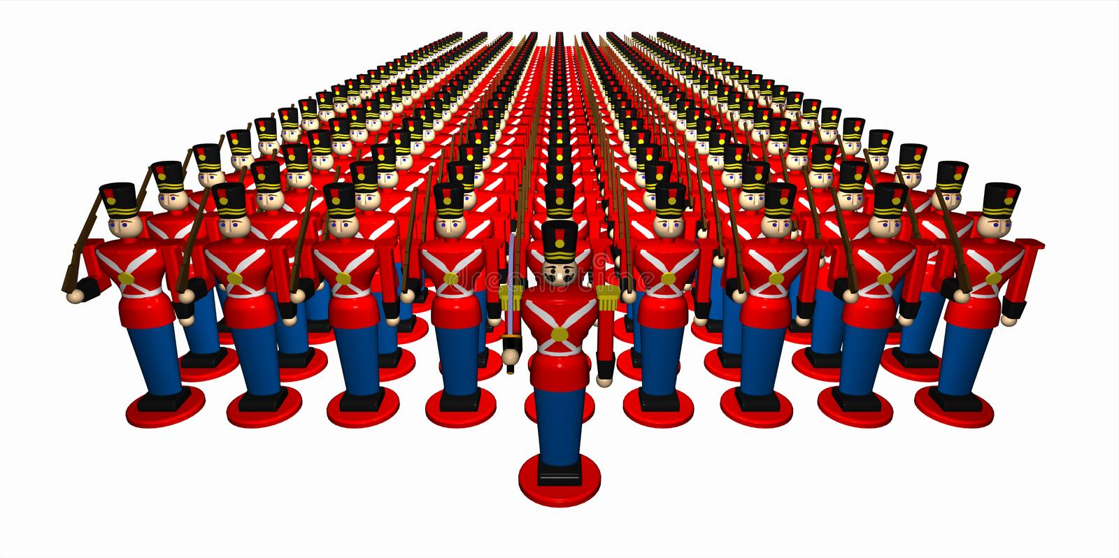 Download Toy_army_01 stock illustration. Image of figure, drawing - 3374641
