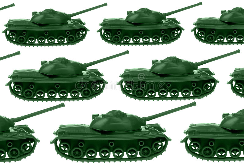 Download Toy Army tanks stock image. Image of defend, isolation - 2196361