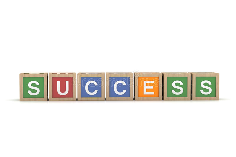 Download Toy Block With Success Word Stock Photos - Image: 25874103