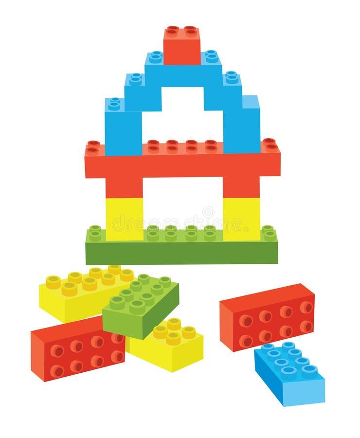 Download Toy blocks stock vector. Image of structure, vector, block - 8048063