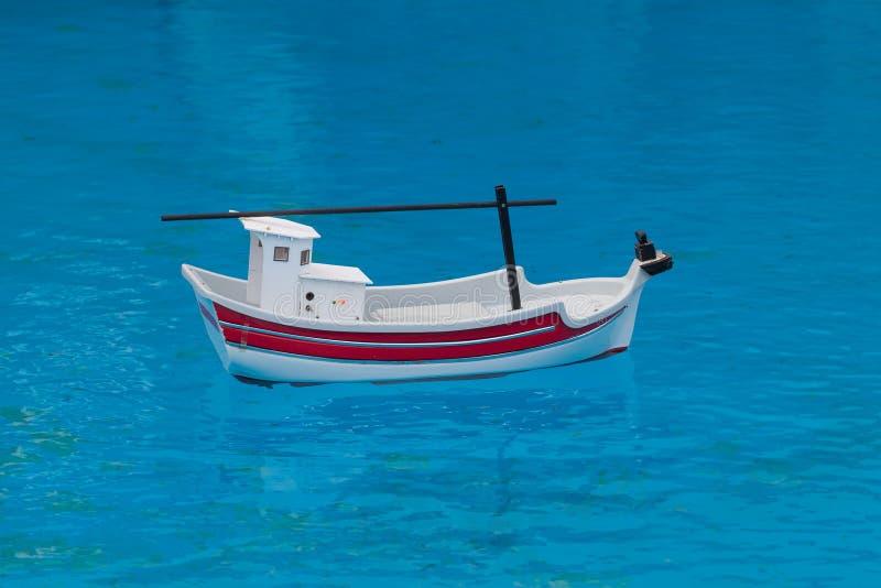 Toy Boat royaltyfria bilder