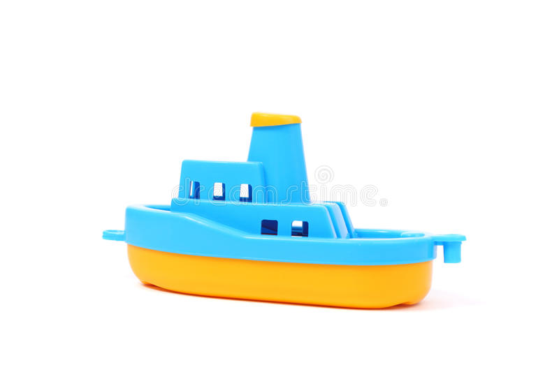 Toy Boat image stock