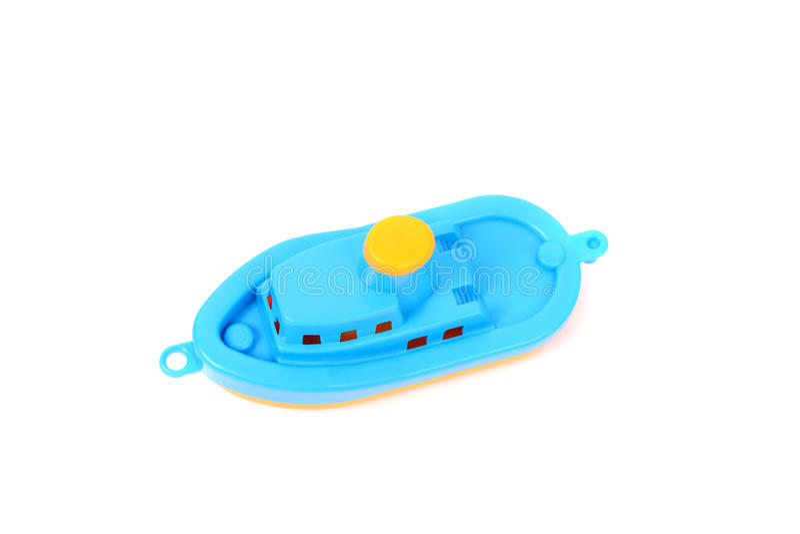 Toy Boat royalty-vrije stock afbeelding