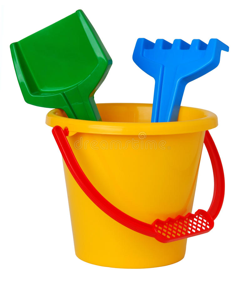 Free Toy Bucket Stock Photo - 12594970
