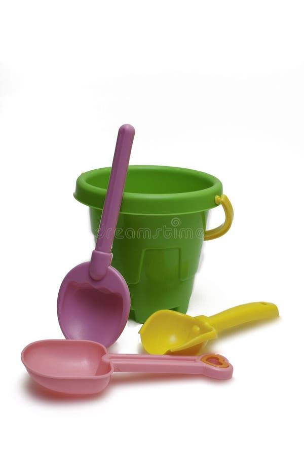 Free Toy Bucket Royalty Free Stock Photo - 17280445