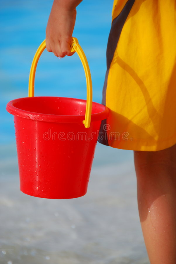Toy Bucket stock images