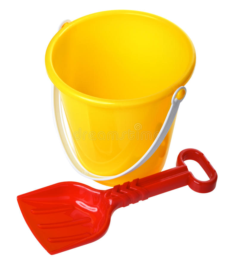 Free Toy Bucket And Scoop Royalty Free Stock Images - 28873919