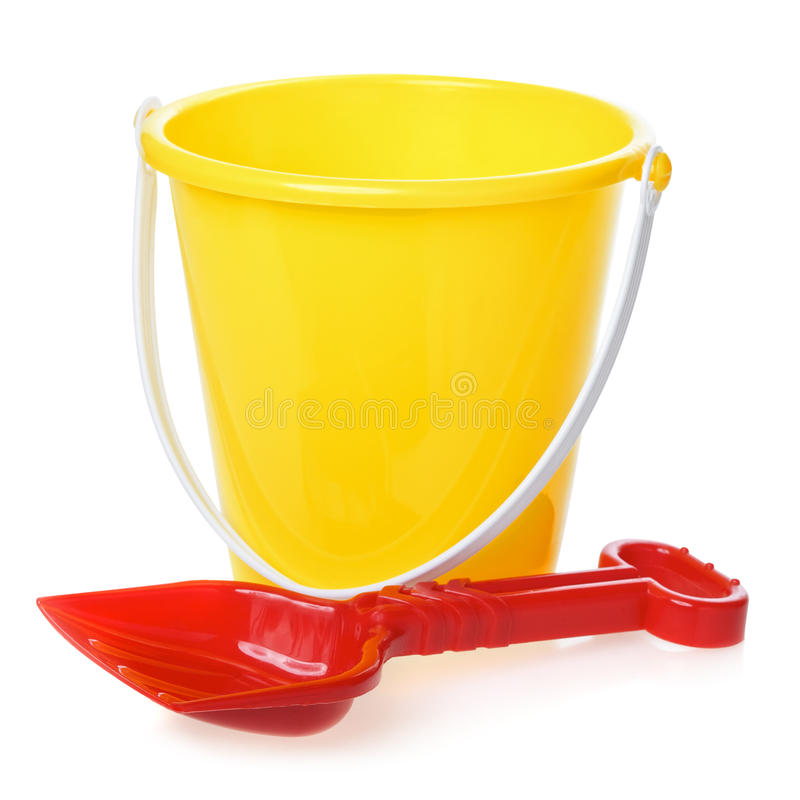 Free Toy Bucket And Scoop Stock Image - 40961981