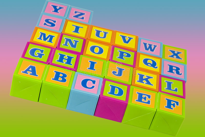 Download Toy building blocks stock image. Image of educate, language - 5944807
