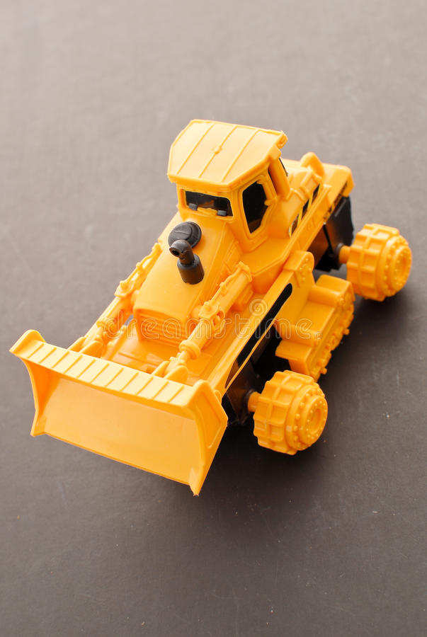 Download Toy Bulldozer stock photo. Image of industry, wheels - 25937502