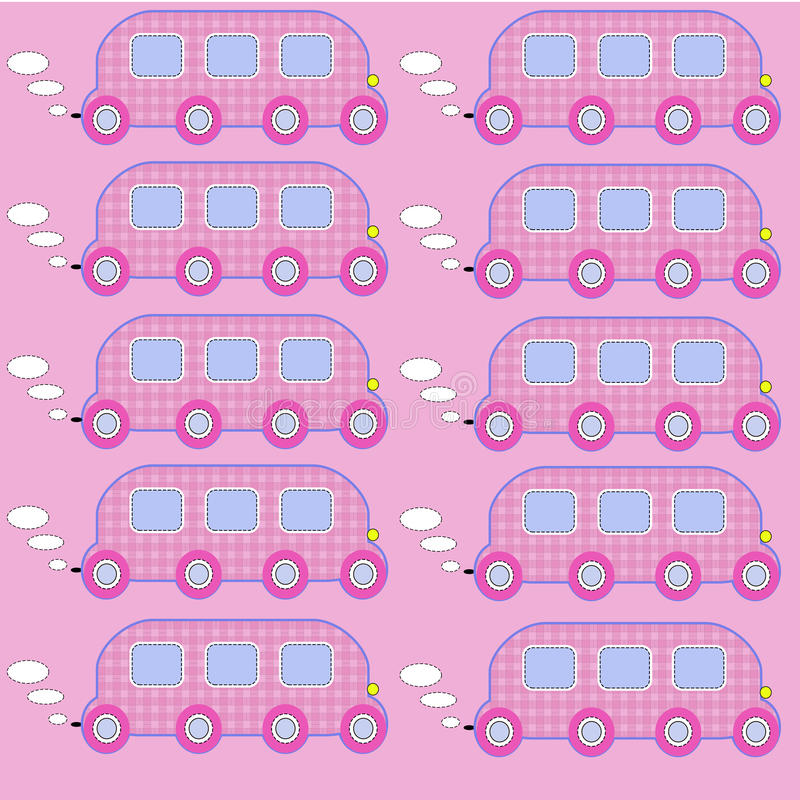 Toy bus 3 royalty free stock photography