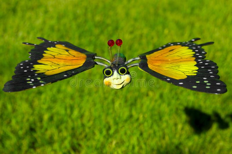 Toy Butterfly Free Stock Photography
