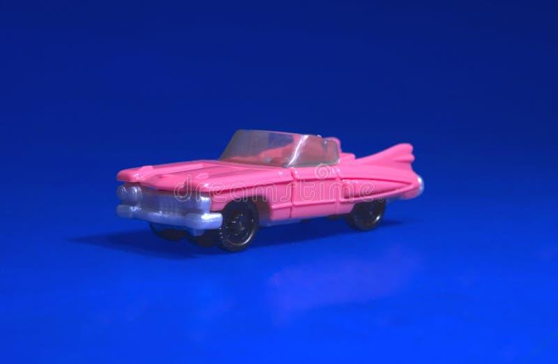 Toy Cadillac stock photo
