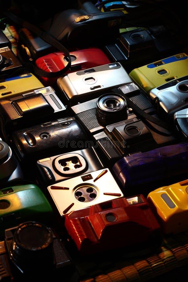 Toy Cameras foto de archivo libre de regalías