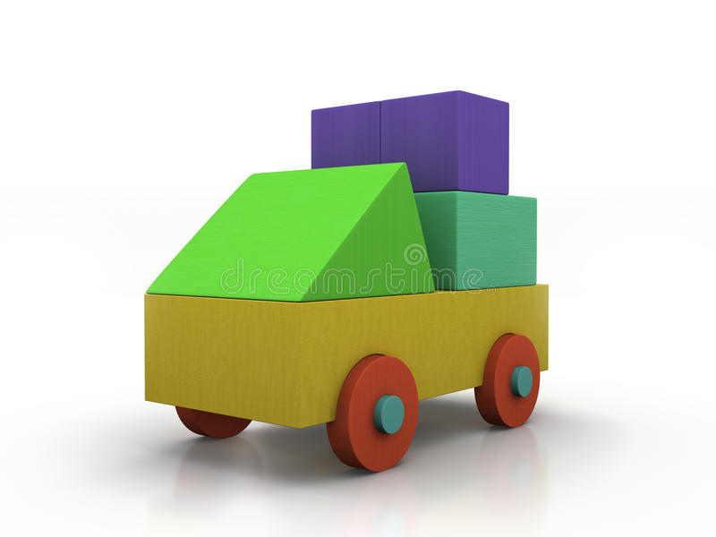 Download Toy Car stock image. Image of child, colour, luggage - 23964941