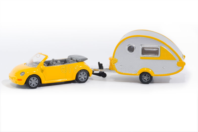 Download Toy car stock photo. Image of trailer, camper, automobile - 2670888