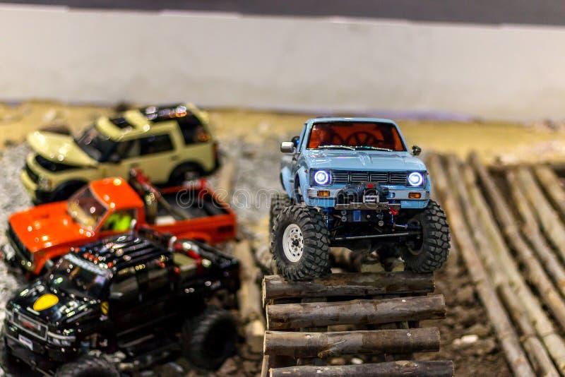 Toy car bigfoot royalty free stock photography