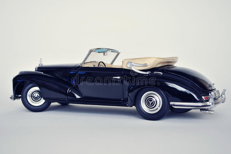 Toy car model mercedes benz 300s 1955 editorial photo for Mercedes benz toy car models