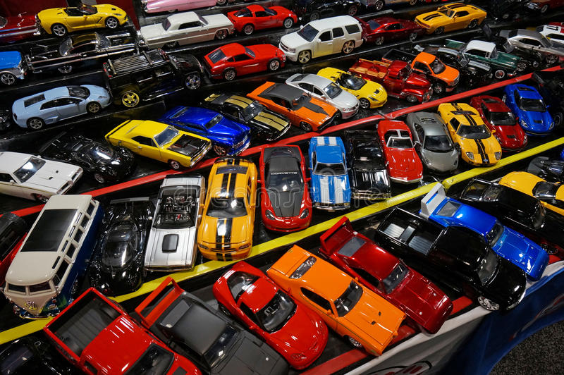 Toy Car Models for Sale stock photos