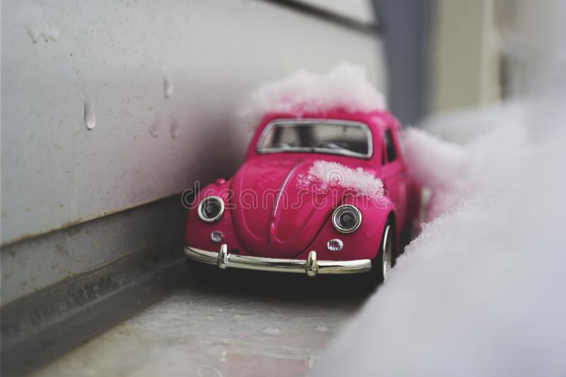 Toy Car In Snow Free Public Domain Cc0 Image