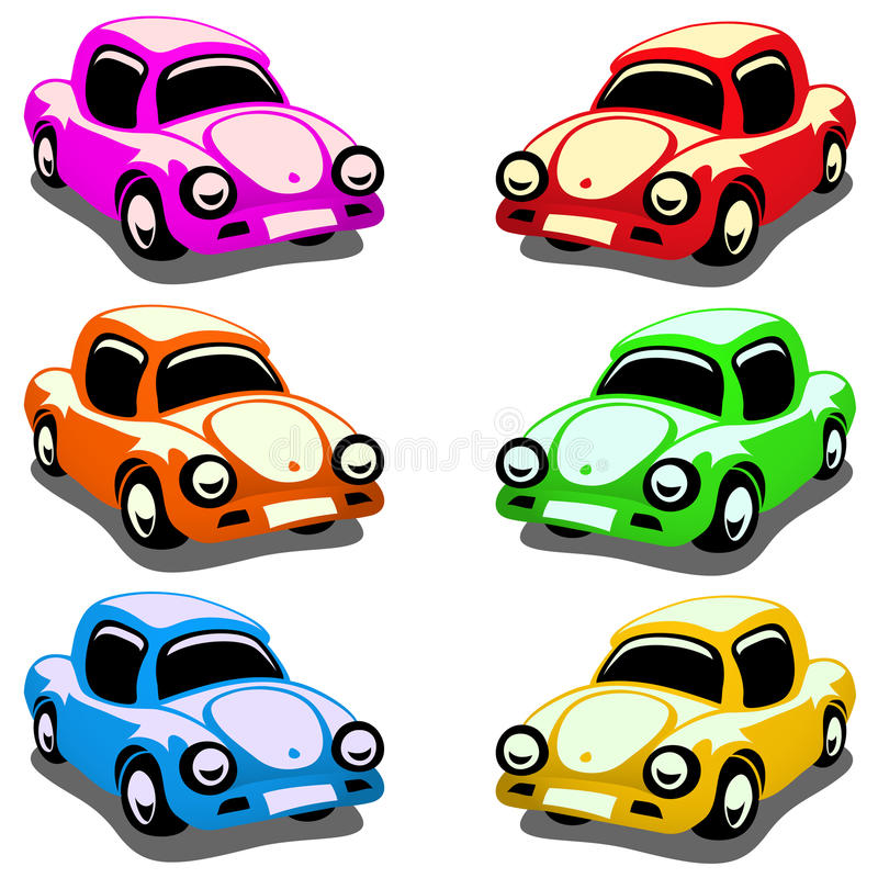 Download Toy Cars stock vector. Image of collection, transport - 13113737