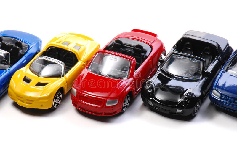Toy Cars immagine stock