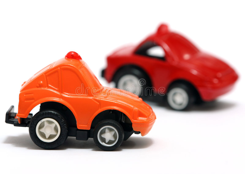 Toy Cars stock image
