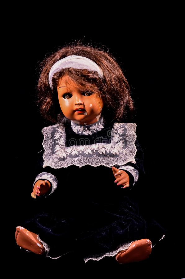 Toy Ceramic Doll fotografia stock