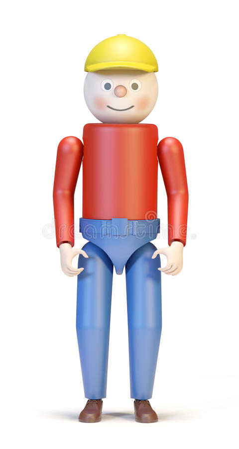 Toy Character Stock Photography