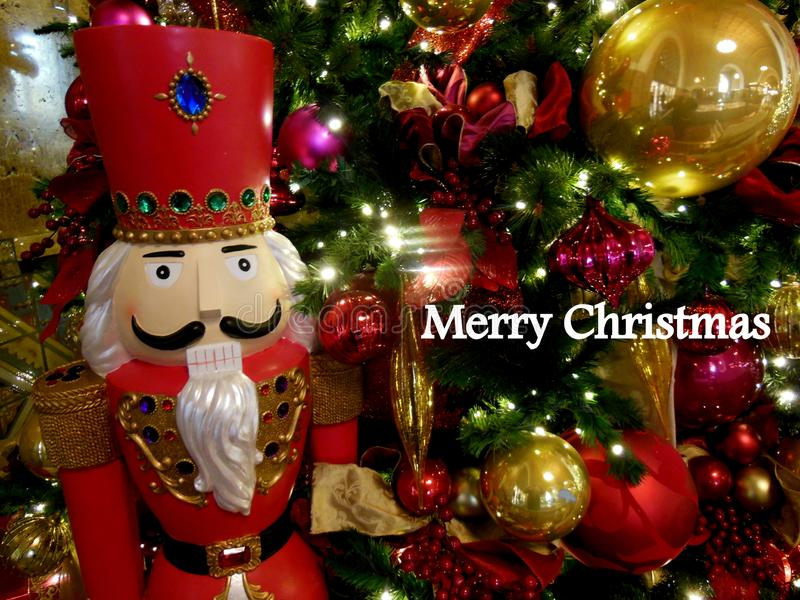 Toy Christmas Soldier Greeting illustration libre de droits