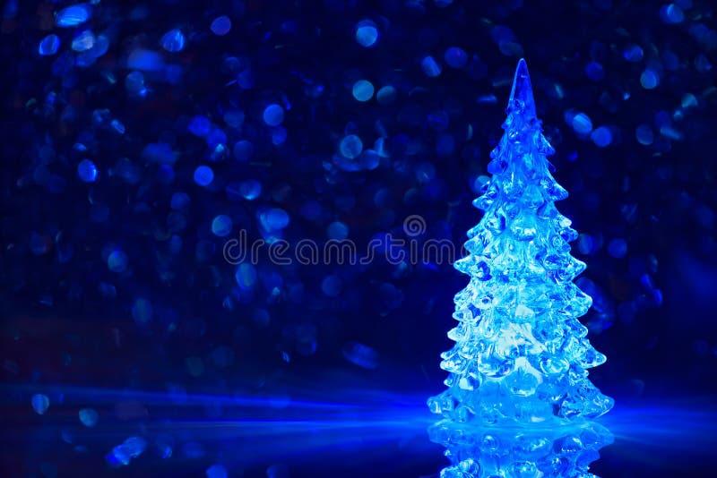 Toy Christmas trädbakgrund royaltyfria bilder