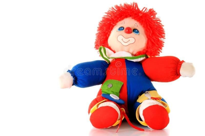 Toy clown stock photos