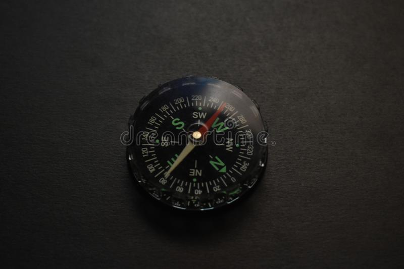 A toy compass. royalty free stock photo