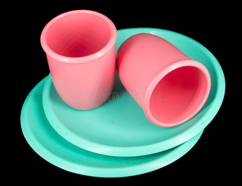 Toy Dinnerware stock foto