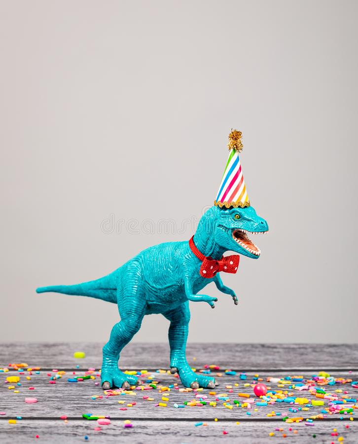 Toy Dinosaur p arkivfoto