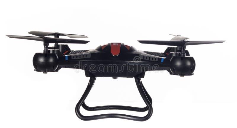 Toy Drone pronto a volare fotografie stock libere da diritti