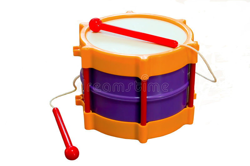 Download Toy drum stock image. Image of rhythm, music, instrument - 4804423