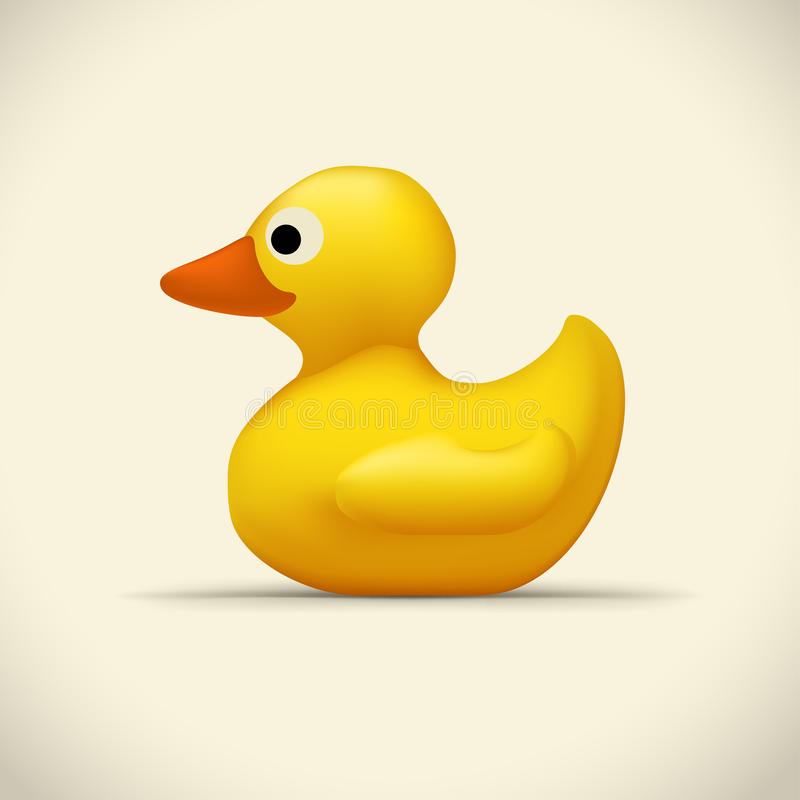 Free Toy Duck On Bright Stock Photography - 91132342