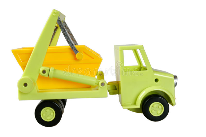 Download Toy dump truck stock image. Image of cute, play, model - 13141795