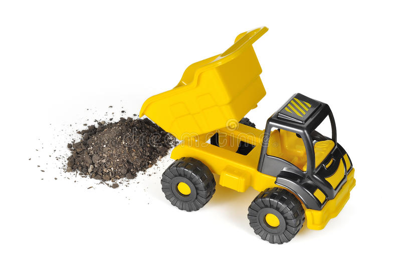 Download Toy Dump Truck stock photo. Image of haul, years, artificial - 18431118