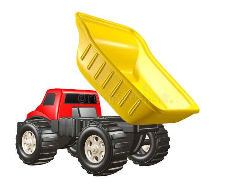 Toy Dump Truck Dumping