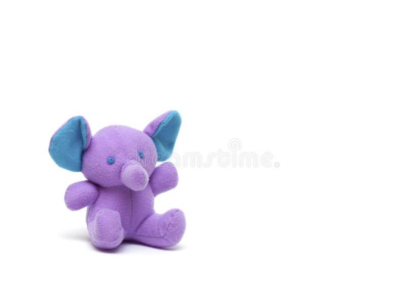 Toy elephant stock image