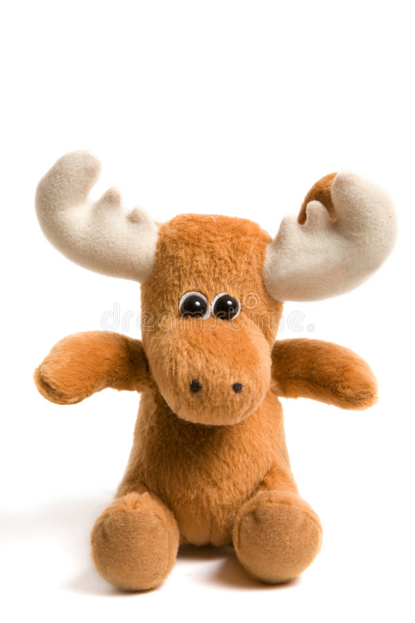 Toy elk royalty free stock photos