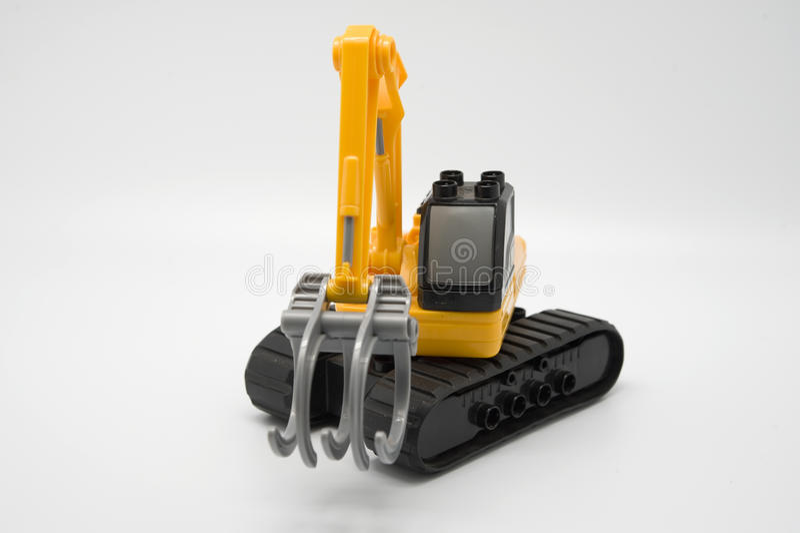 Download Toy excavator stock image. Image of industrial, black - 21562223