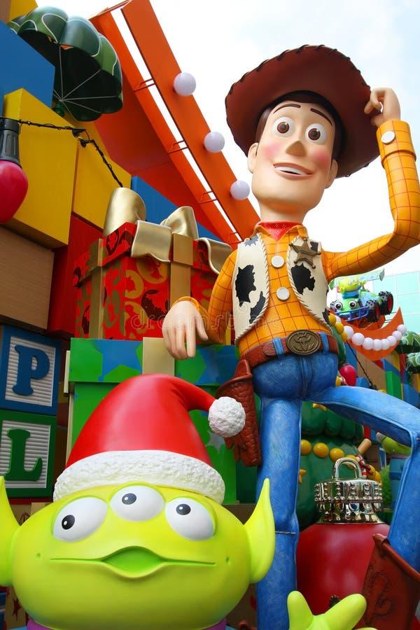 toy för julgarneringHong Kong berättelse fotografering för bildbyråer