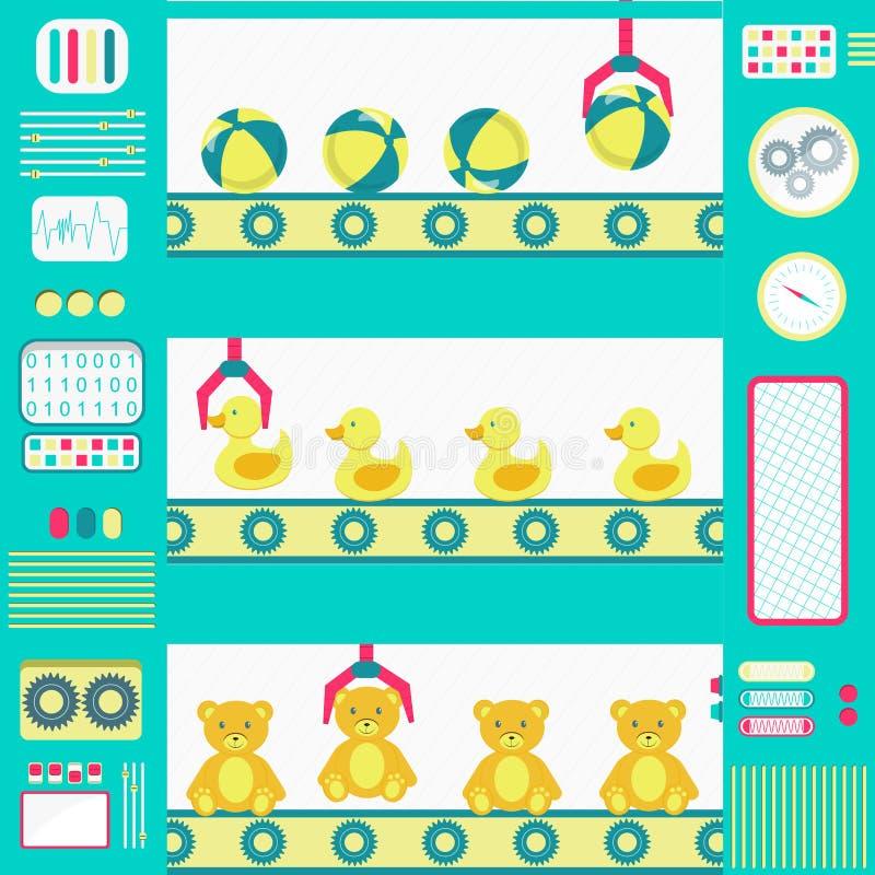 Toy Factory illustrazione di stock