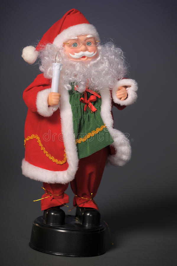 Download Toy figure of Santa Claus stock image. Image of base - 22533579